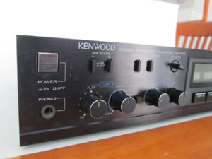 KENWOOD KA-52B Integrated Amplifier & KENWOOD KT-52B Synth Tuner