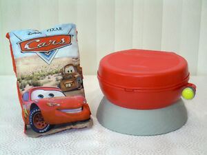 Lightning McQueen Sound Effects Potty & Plush Pillow Story Book