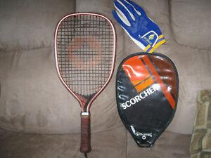 racket ball racket $15.00