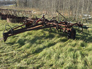14' Cultivator with Flexi-Coil harrows