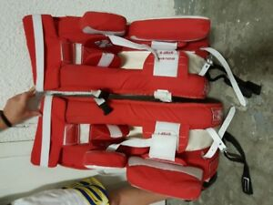 Hockey goalies pads for kids 9-10 years old