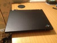 IBM Thinkpad laptop - Windows 7 - Office 2010 - Wifi - Dvd