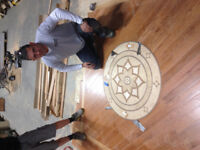 Professional hardwood and laminate installation-from $1.49 sq ft