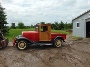 1930 ford Model A Pickup Truck project