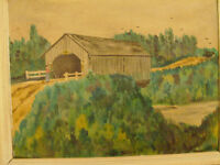 RW BRIGES ... Shaw Brook   Original     PAINTING