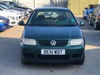 2001 Volkswagen Polo 1.4 Match 5dr