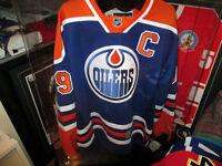 Wayne Gretzky Autographed Edmonton Oiler's Blue Jersey