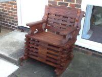 Lovely Garden Rocking Chair