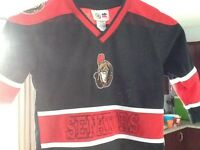 Ottawa senators NHL kids jersey