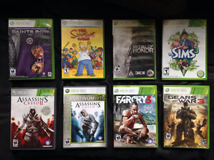 Selling Some Xbox360 Games.