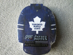 BRAND NEW - TORONTO MAPLE LEAFS JERSEY NOTE PAD