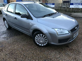 2005 '05' Ford Focus 1.6 LX. Petrol. Manual. 5 Door Family Car. Px Swap