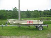 12ft. STARCRAFT Aluminum Boat...Plus.. (SOLD)