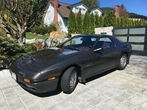 1988 MAZDA RX-7 GX, 62K km,PRICE REDUCED, ORIG OWNER,SUPERB COND