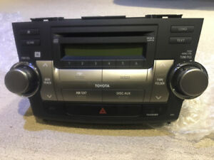 OEM radio Cd player for HIGHLANDER 2008-2010