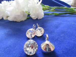 SWAROVSKI Clear Bella $60 ea-THESE DONT GO ON SALE #1