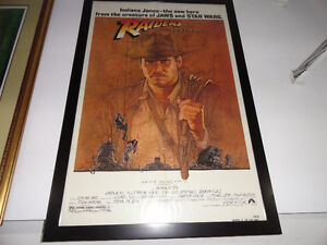 RAIDERS OF THE LOST ORIGINAL 1981 ONE SHEET OS MOVIE POSTER