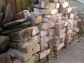 Bricks, reclaimed, hardcore, rubble