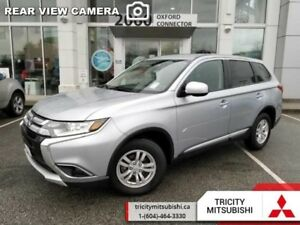 2017 Mitsubishi Outlander ES  SPECIAL DEMO PRICE-LOW KM