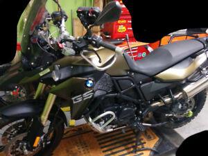 """BMW """"low"""" seat (F800GS)"""