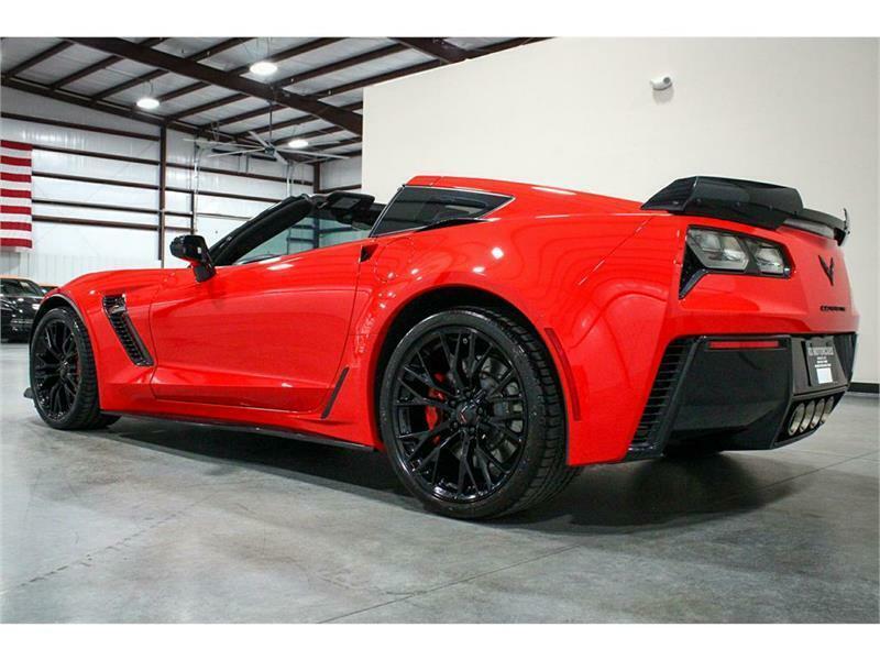 2016 Red Chevrolet Corvette Z06 3LZ   C7 Corvette Photo 3
