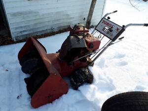 Souffleuse à neige Toro