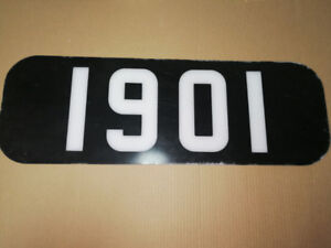 Ontario Northland TEE Number Board