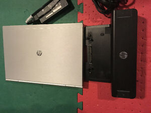 HP Elitebook 8470b avec docking station