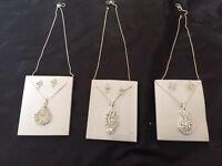 sliver chain set for girls