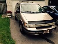 1995 Mercury Villager Minivan, Van