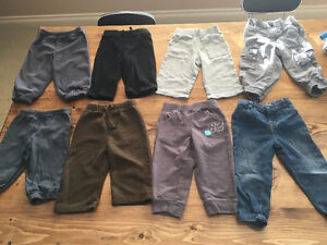 8 Pairs of Boy Pants (6-12 month)
