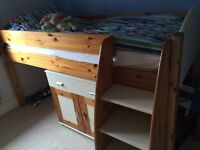 Children's Stomps bed and matching furniture