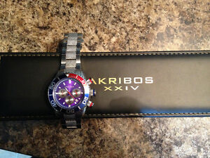 Men AKRIBOS XX!V Stainless steel watch Gatineau Ottawa / Gatineau Area image 7