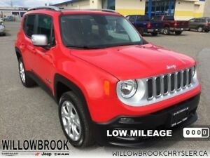 2017 Jeep Renegade Limited  - Low Mileage
