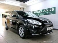 Ford C-Max 1.0 ECOBOOST ZETEC 125PS [2X SERVICES, 30 ROAD TAX and DAB RADIO]