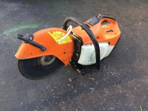 """Stihl TS410 Concrete Saw - 12"""" Abrasive blade"""