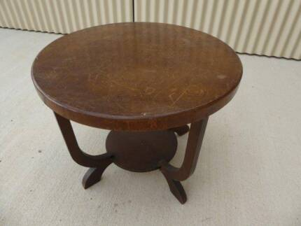 Wooden coffee table or occasional table