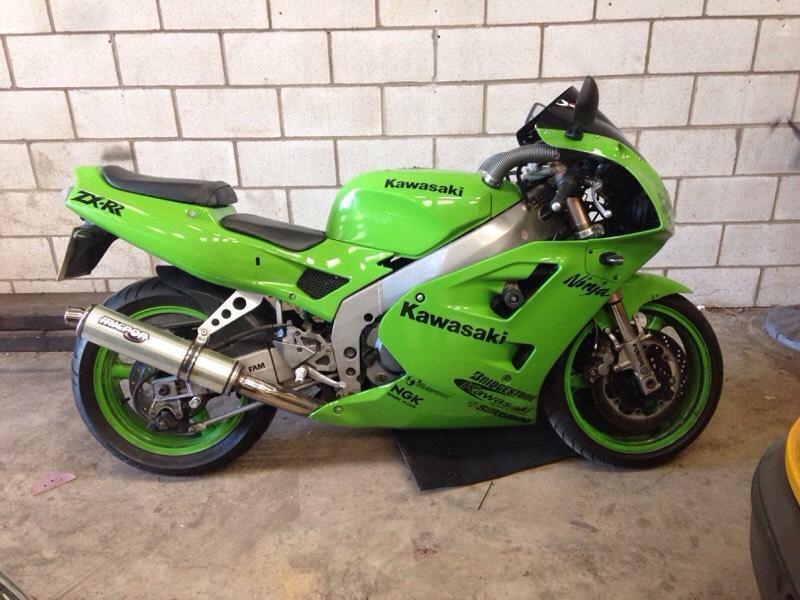 Kawasaki Zxr Trike