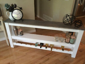 Rustic Country Chic Sofa Table Belleville Belleville Area image 9