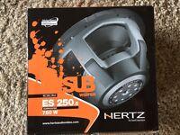 """Hertz ES250 10"""" subwoofer , car sub"""