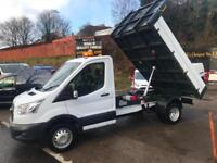 2015 65 FORD TRANSIT NEW SHAPE DROPSIDE TIPPER 125PSI / LOW MILES