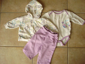 Baby Girl 9 Month Love'n Cuddles Outfit