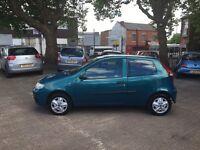 Fiat Punto 1.2 8v Active 2006 full 12 months MOT only 86,000 miles FSH