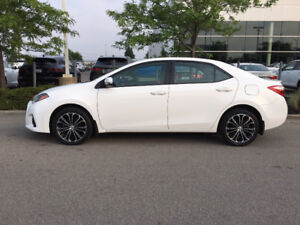 2015 Toyota Corolla Sport, One Owner, Low Kms, Loaded, Like New!