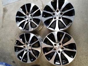 17 Inch Acura Diamond Cut Rims + Center caps