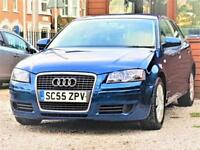 Sporty-- 2006 Audi A3 -- 1.6 Sportback 5 Door --MOT April 2019 -Part Exchange OK