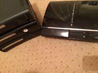 Broken consoles