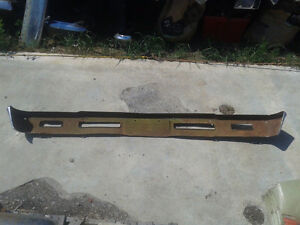 Factory used front bumper off of a 1966 Chevy Chevelle Belleville Belleville Area image 2