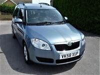 SKODA ROOMSTER 2 1.4 TDI PD ( 58,000 MILES FROM NEW )