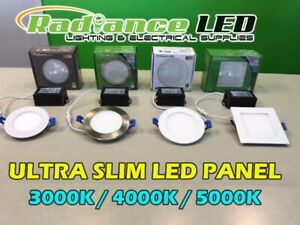LED SLIM PANELS / POT LIGHTS / ELECTRICAL SUPPLIES BLOWOUT SALE
